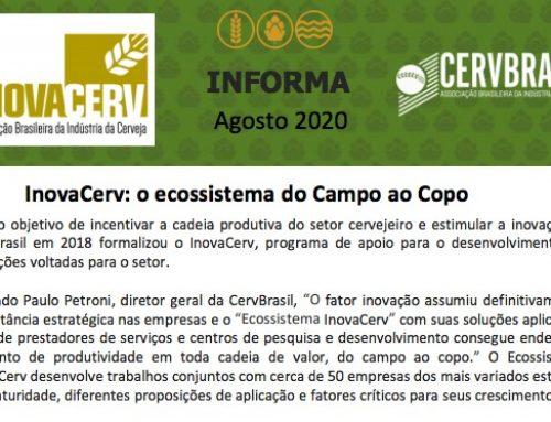 InovaCerv Informa Agosto